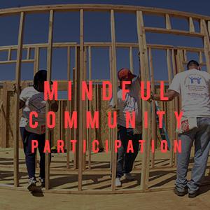 mindful community participation
